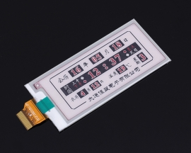 Electronic Ink Screen 2.9 inch E-Paper Electronic Paper 296x128 Partial Refresh SPI Interface