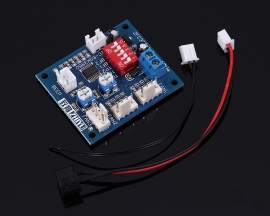 Computer Cooling Controller PWM Fan Temperature Controller Mainboard + Small Probe + Buzzer