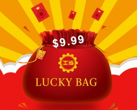 ICStation Black Friday & Cyber Monday $9.99 Surprising Lucky Bag