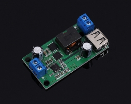 DC-DC Step Down Module Buck Converter 9V/12V/24V/36V to 5V 5A Buck High Power Voltage Power Supply Module