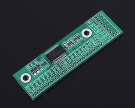IIC Input Output Expansion Board MCP23017-E/SS I2C Interface 16Bit 16-Channel I/O Expansion Module Pin Board Converter