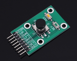 Navigation Button Module 5D Rocker Joystick Independent Keyboard for Arduino MCU AVR Game