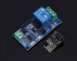 DC 12V ESP8266 2Bit WIFI Relay Module IOT Intelligent Home Mobile APP Remote Control Switch