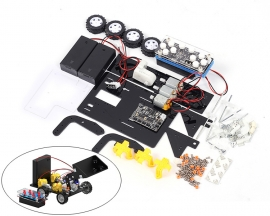 DIY Remote Control Loader Toy Car DIY Children Toy Kit for Science and Technology Practice
