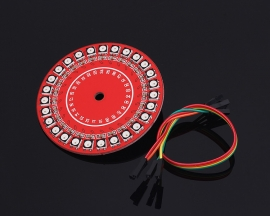 WS2812B RGB Full Color LED Flow Lamp Module LED Ring MCU Electronic Gift