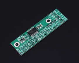 SPI Interface Converter PinBoard 16Bit I/O Extension Board Module MCP23S17-E/SS for Arduino