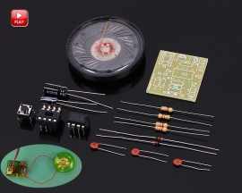 DIY Kit Electronic Doorbell NE555 Electronic Production Transformer Sound Circuit Processing Board