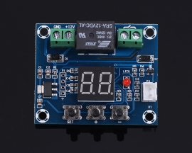 XH-M214 Soil Moisture Sensor Humidity Controller Module 20-99%RH Automatic Control Irrigation System Red Digital Display Controller