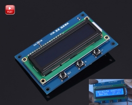 XH-M219 Clock Temperature Humidity Sensor Module LCD1602 Display Module