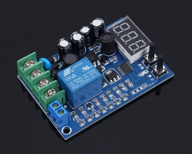 Battery Charge Controller Undervoltage Control Module Over-discharge Protection Switch Module for 2V-120V Battery