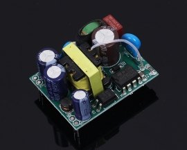 AC-DC Converter Dual Channel Dual Output Step Down Power Supply Module AC 85V-265V to DC 5V/24V