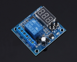 Undervoltage Control Module LED Display Charge Controller for 12V-120V Battery