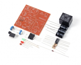 DIY NE555 Timer Switch Relay Module Kit DC 5V Electronic Experiment Kit