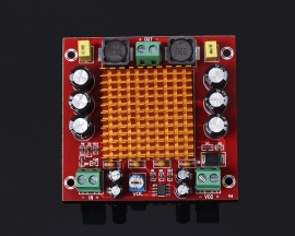 XH-M544 TPA3116DA 150W Mono Digital Amplifier Module Digital Audio Amplifying Board DC 12-26V