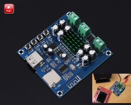 XH-M422 TPA3116D2 Class D Double Channel 50W+50W Digital Bluetooth Amplifier Module Stereo Power Amplifier Board