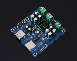 XH-M422 50W+50W Bluetooth Amplifier Module Support U Disk TF Card Play TPA3116D2 50W*2