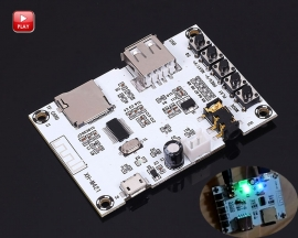 Digital Audio Amplifier MP3 Bluetooth Decoder Board USB TF Card Wirless Bluetooth Player Amplifier Module