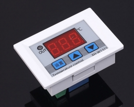 XH-W1321 DC 12V Digital LED Temperature Thermostat Controller 10A Thermostat Control Switch Probe -50-110 Degrees