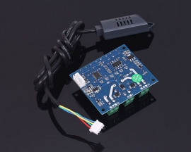 XH-M452 DC 12V LED Dual Digital Temperature Humidity Controller Independent Output 10A Relay Control Thermostat +Probe