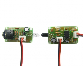 TAI-01 5V Infrared Audio Transceiver DIY Kit IR Sound Voice Transmitter Receiver Infrared Transmission Module