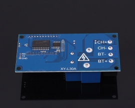 Charging Control Module 30A LCD Display Storage Lithium Battery Charger Control Switch Protection Board 6-60V