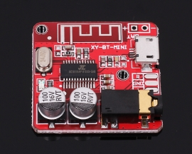 Mini MP3 BLE Bluetooth 4.1 Lossless Decoder Board Bluetooth Receiver Board Amplifier Module for Car Speaker Amplifier