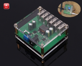 DC-DC Step Down Module 6 USB Interface 8A Buck Converter Power Supply Module DC 9V/12V/24V/36V to DC 5V