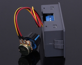 DC 6-30V 12V 24V 5A PWM DC Motor Speed Controller Digital LED Display Module and Switch