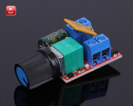 Mini DC 5A Motor PWM Speed Controller Module 6V-30V Speed Control Switch LED Dimmer