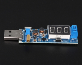 DC to DC USB Step Up Step Down Power Supply Module Adjustable Boost Buck Converter DC 5V to 3.3V/12V