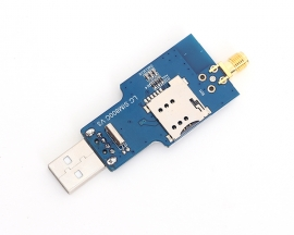 USB to GSM Serial GPRS SIM800C Module Wireless Bluetooth Board Sim900a Computer Control Calling with Antenna