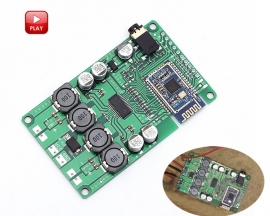 Bluetooth 5.0 Power Amplifier Board 2x15W 2x10W Support AUX Audio Support Change Name and Password