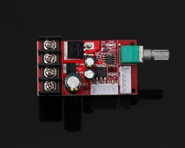 DC 10V-50V PWM Motor Speed Controller Regulator LED Dimmer DC 12V 24V 36V 48V 15A