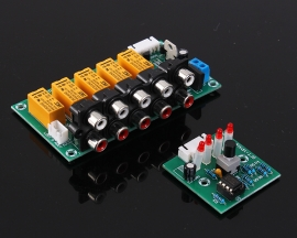 Audio Input Signal Selector Module 4 In 1 Out Relay Audio Switching Board SFT-YP41