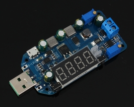 DC-DC 15W Adjustable USB Step Up Step Down Power Supply Module Buck Boost Voltage Converter 5V to 3.3V 9V 12V 30V
