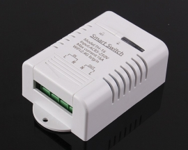 DS18B20 Temperature Monitor IoT 16A Wireless WIFI Intelligent Control Switch AC 85V-250V