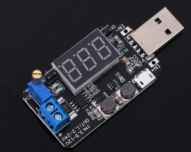 DC-DC 3W Adjustable USB Step Up Down Power Supply Module Buck Boost Voltage Converter