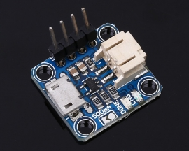 Micro Lipo Micro-B USB Battery Charger Board USB LiPoLiIon charger - v1