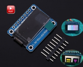 0.96'' 0.96Inch IPS Screen OLED Display Module 80x160 ST7735 SPI 3.3V RGB