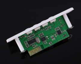 12V 24V 36V MP3 WAV Decoder Board Bluetooth Mono Power Amplifier Module 3W Remote Control Support TF Card U-disk FM