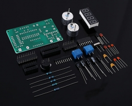 DIY Kit Ultrasonic Range Finder Distance Measuring Transducer Sensor Electronic Components Suite