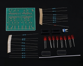 DIY Kit LM324 Temperature Indicator Thermistor Sensor Electronic Components Suite