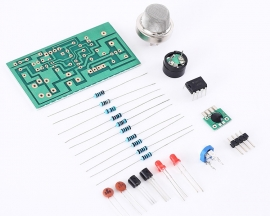 DIY Kit MQ-2 Smoke Sensor Detector Natural Gas Alarm Electronic Components Suite