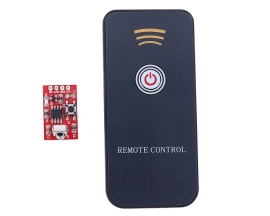 DC 3V-5V 1-Channel Infrared Receiver Board Module Remote Controller Support Self-locking/Inching/Interlocking Mode