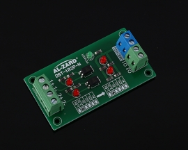 DC 3.3V 2Bit Optocoupler Isolator 3.3V to 3.3V PLC Signal Converter Board  2 Channel Level Voltage Converter NPN Output