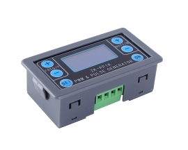 Signal Generator Square Wave Generator 1-Channel 1Hz-150KHz Dual Mode LCD PWM Pulse Frequency Duty Cycle Adjustable Module