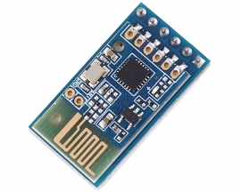 2.4GHz 40mA 12dBm UART Wireless Bluetooth Transmission Transceiver Module DC 4.5V-7V 110m for Smart Controller