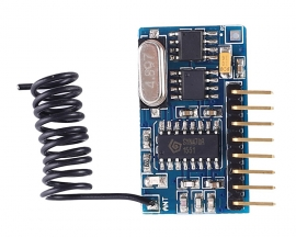 DC 3.3V-5.5V 315MHz Wireless Learning Control Module Self-locking Inching Interlocking Superheterodyne Receiver