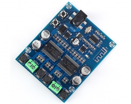DC12V XH-A351 Digital Bluetooth Power Amplifier Board Dual Channel 20W+20W HIFI Stereo Voice Audio Module