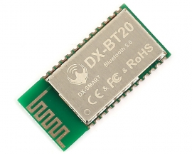 DX-BT20 Wireless Bluetooth RF Transceiver Module CC2640 BLE5.0 UART DC 3.3V 2.4GHz ISM Low Power Consumption